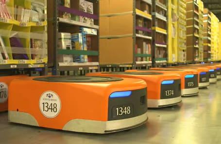 Amazon es una de las multinacionales que más está gastando en la automatización de sus centros logísticos